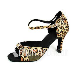 Vrouwen Satijn Hakken sandalen Latijn Dansschoenen (053013187)