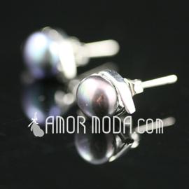 Elegante Legierung mit Perlen Frauen Ohrringe (011027701)