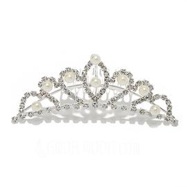 Prächtig Legierung/Nachahmungen von Perlen Kämme und Haarspangen (042015968)