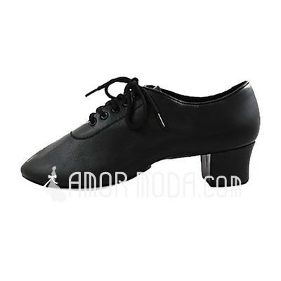 Herren Echtleder Flache Schuhe Latin Moderne Tanzschuhe (053013149)