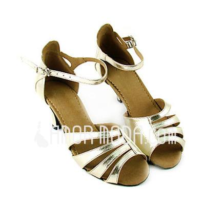 Vrouwen Imitatieleer Hakken sandalen Latijn Dansschoenen (053013590)