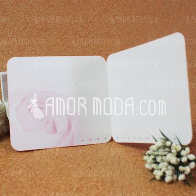 Estilo para el Corazón Side Fold Tarjetas de felicitación (Juego de 10) (114031194)