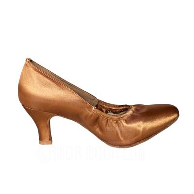 Vrouwen Satijn Hakken Pumps Moderne Dansschoenen (053013035)