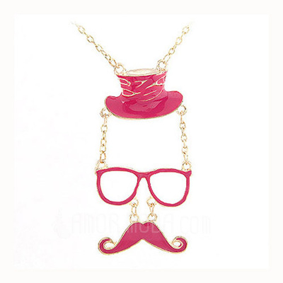 Stilvoll Legierung Frauen Mode-Halskette (137044771)