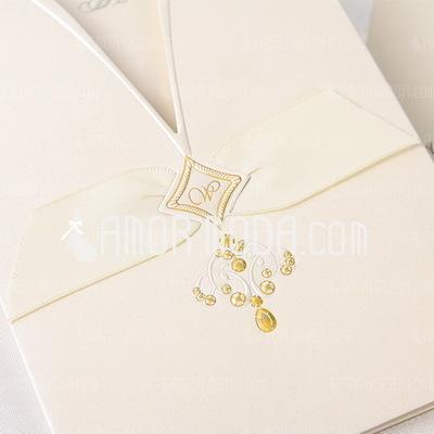 Stile classico Wrap & Pocket Invitation Cards (Set di 50) (114032372)
