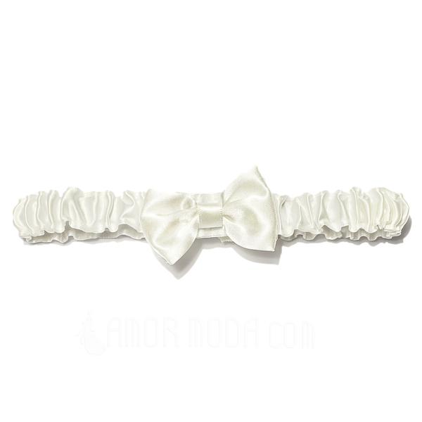 Schicke Satiniert mit Des bowknot Hochzeit Strumpfbänder (104024492)