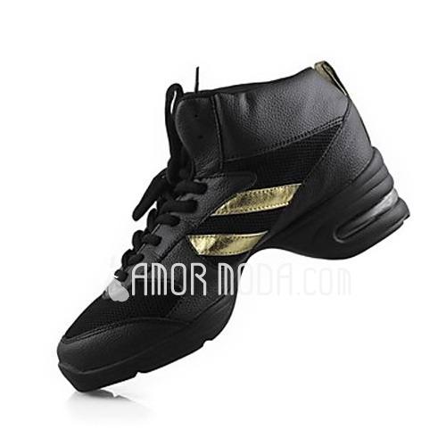 Vrouwen Echt leer Dans Sneakers Oefening Dansschoenen (053013221)