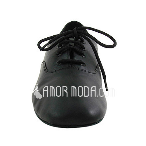 Barn Äkta läder Platta Skor / Fritidsskor Latin Bal Övning Karaktärskor Dansskor (053012953)