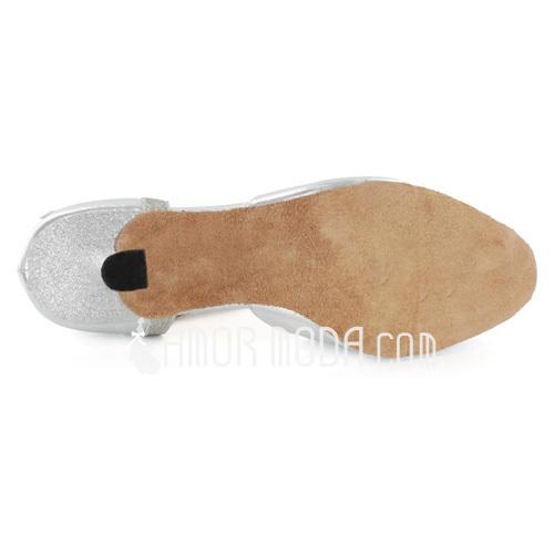 Frauen Funkelnde Glitzer Lackleder Heels Sandalen Latin Tanzschuhe (053021561)