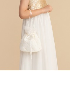 Bridesmaid Gifts - Solid Color Satin Bridal Purse (256176427)