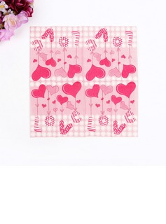 Heart Design Dinner Napkins (Set of 50 ) (122039505)