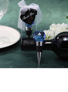 Crystal Ball Top Bottle Stoppers (052024423)