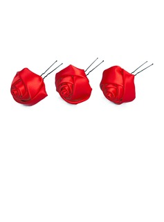 Gorgeous Satin Hairpins (Set of 3) (042024254)