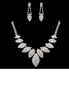 Gorgeous Alloy/Rhinestones Ladies' Jewelry Sets (011008166)