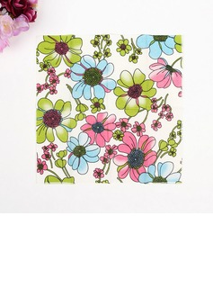Flower Pattern Dinner Napkins (Set of 50 ) (122039572)