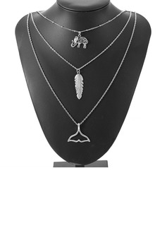 Chic Alliage Femmes Collier de mode (137192330)