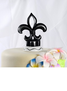 Flower-de-luce Resin Wedding Cake Topper (122036156)