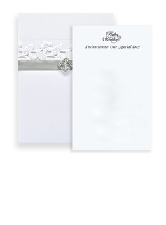 Classic Style Wrap & Pocket Invitation Cards (Set of 10) (118040279)