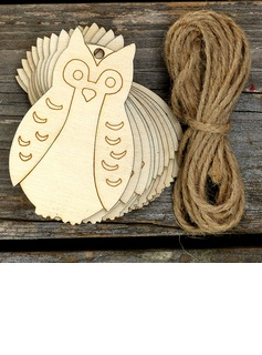 Classic/Nice Lovely/Pretty Wooden Wedding Ornaments (set of 10) (131178944)