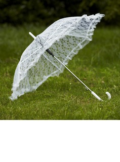 Delicate Lace Wedding Umbrellas (124032726)
