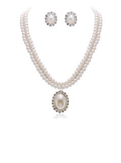 Sposa Regali - Elegante Stile Vintage Lega Perla Set di gioielli (255170436)