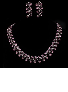 Beautiful Alloy With Rhinestone Women's Jewelry Sets (011005479)