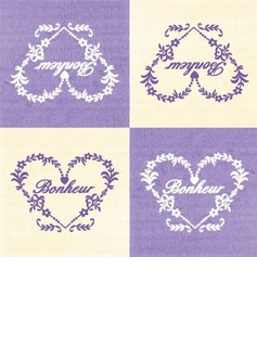Bonheur vines design Dinner Napkins (Set of 20) (011036232)