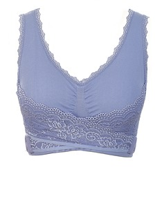 Plus Size Chinlon Feminine Cute Bra (041055872)