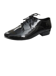 Men's Real Leather Heels Modern Ballroom Dance Shoes (053013224)