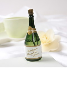 Champagne Plastic Bubble Bottle (set of 24) (131040030)