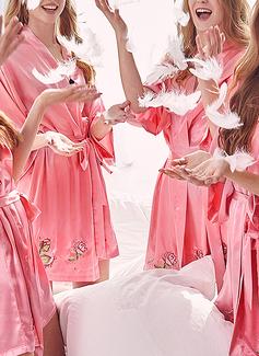 Polyester la mariée Demoiselle d'honneur Maman Robes Florales (248198488)