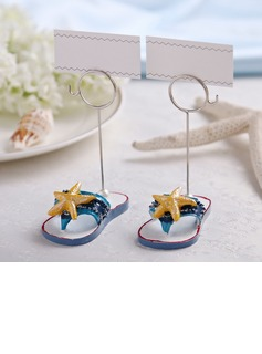 Starfish or Fish Design Resin Place Card Holders (Set of 2 pieces) (051041534)