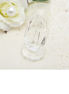 Cross Design Crystal Keepsake (051050622)