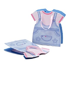 Baby Dress Design Favor Bags With Ribbons (050052047)