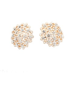 Gorgeous Alloy With Rhinestone Women's Earrings (011035113)