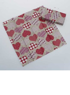 Heart Design Dinner Napkins (Set of 50 ) (011036249)