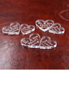 Heart Shaped Delicate Crystal Wedding Ornaments (set of 100) (131188110)