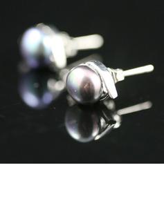 Elegant Alloy With Pearl Women's Earrings (011027701)