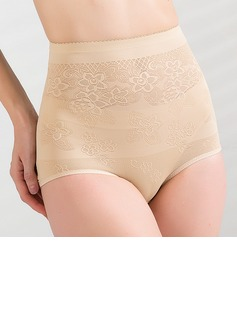 Cotton/Chinlon with Pattern High Waist Shaping Panties (125034034)