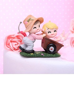 Garden Fun Resin Birthday Cake Topper (119031529)