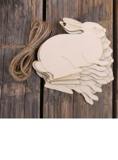 Simple/Classic/Nice Nice/Lovely/Pretty Wooden Wedding Ornaments (set of 10) (131178954)