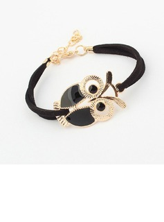 Cute Owl Alloy Resin Women's Fashion Bracelets (137052754)