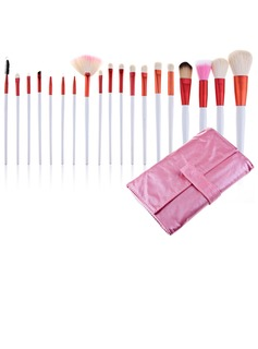Pink Bag Professional Makeup Brushes (20 Pcs )	(046024402)