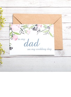 Bride Gifts - Classic Paper Wedding Day Card (255184413)