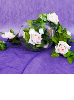 Plastic Rosa vin Wedding Dekoration (131037534)