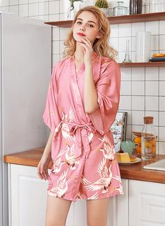 Polyester la mariée Demoiselle d'honneur Maman Robes Florales (248198491)