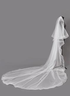 Dos capas Velos de novia capilla (006203730)
