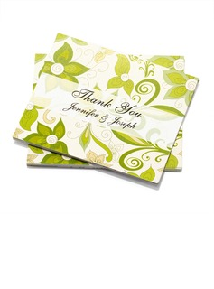 Personalized Flower Design Paper Thank You Cards (Set of 50) (118032214)