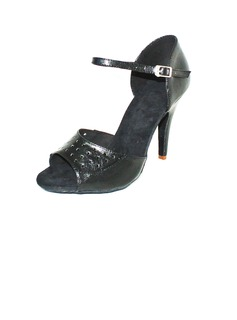Women's Real Leather Heels Sandals Latin Dance Shoes (053016425)