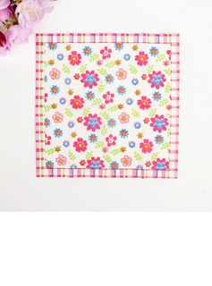 Flower Pattern Dinner Napkins (Set of 50 ) (122039513)
